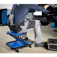 Car Creeper Folding Mechanics Stool 36-inch Heavy Duty Convertible Crawler Board 6 rotatable wheels