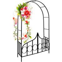 Rose Arch Trellis Climbing Aid Garden Gate Pergola Trellis Roses Arch Metal