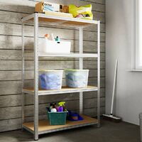 Heavy Duty Shelving Unit Storage Racking Shelf Shelves Boltless Garage Tier NEW 4 Tier - 170x75x30cm