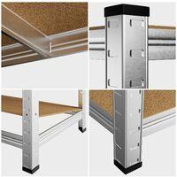 Heavy Duty Shelving Unit Storage Racking Shelf Shelves Boltless Garage Tier NEW 5 Tier - 180x90x40cm