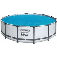 Bestway Swimming Pool Solar Cover - Inflatable Protection and Heating Cover - 14 ft Pool Equipment