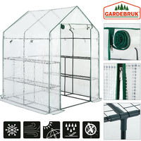 Greenhouse 2m² Walk In Hot House