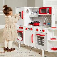 Wooden Play Kitchen 38 Pieces