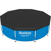 Pool Cover 366cm (144.09 in) Round BESTWAY Fast Set