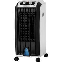 Monzana Humidifier 4in1 5 L Tank Timer 3 Levels Mobile Air Conditioner Fan Air Conditioner Ionizer Air Cooler