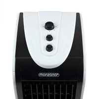 Monzana Humidifier 4 L Tank 3 Levels Mobile Air Conditioner Fan Air Conditioner Ionizer Air Cooler 4 Litre Tank