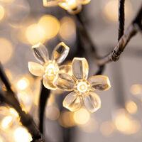 LED Cherry Blossom Tree Remote Control 8 Modes Timer Outside Inside M2 180cm - 200 LEDs