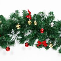 Casaria Christmas Garland Fir Remote Control Christmas Decoration 5m decorated 80 LEDs