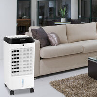 monzana 3in1 Air Conditioner MZ401 4L Incl 3 Levels Fan Air Cooler Humidifier
