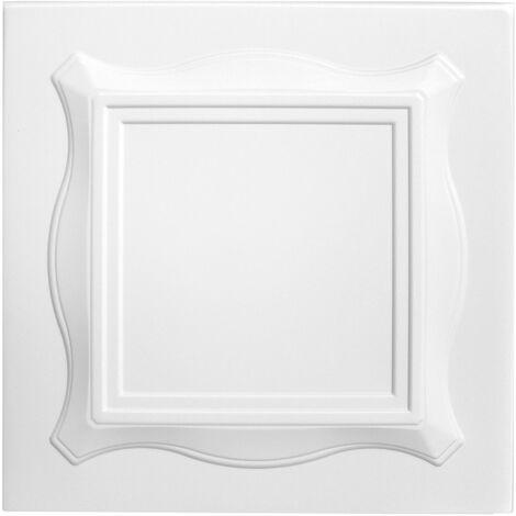 Carreaux plafond   XPS   formfest   Hexim   50x50cm   Nr.15