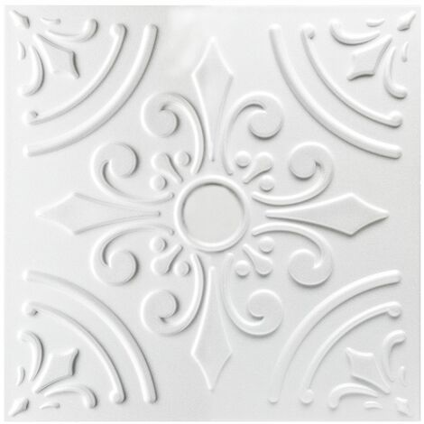 Carreaux plafond | XPS | formfest | Hexim | 50x50cm | Nr.33