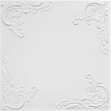 Carreaux plafond | XPS | formfest | Hexim | 50x50cm | Nr.101