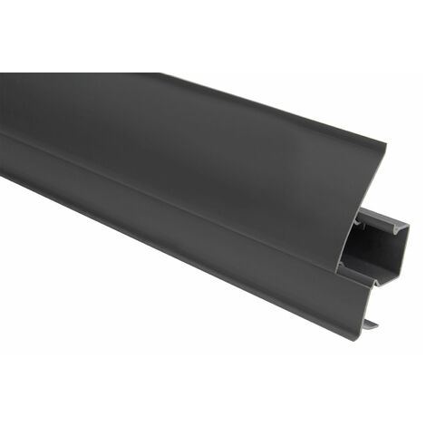 Plinthe | Moderne | Moderne | PVC | Goulotte | 23x65mm | 0107