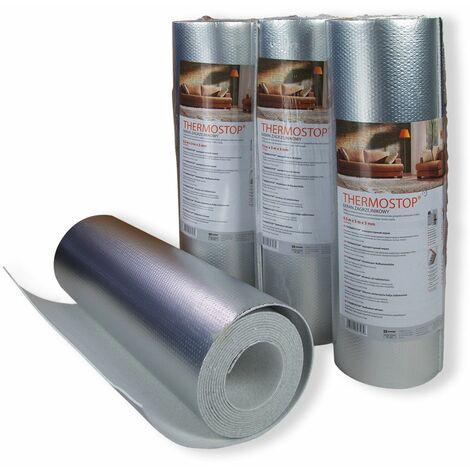 Radiateur Papier peint réfléchissant   isolation murale   3mm   THERMO-STOP 3