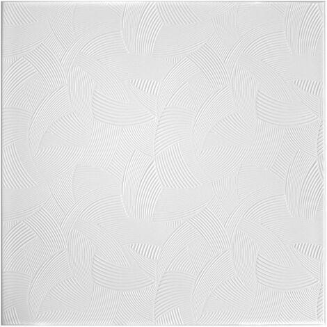 Carreaux plafond | XPS | rigide | Hexim | 50x50cm | No.100