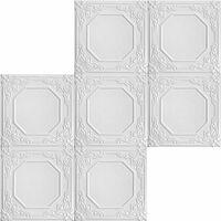 Carreaux plafond | XPS | formfest | Hexim | 50x50cm | NR.68