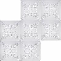 Dalles de plafond | XPS | rigide | Hexim | 50x50cm | No.99