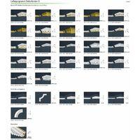 profilés en stuc moulures ornementales | EPS | rigide | Marbet | 53x53mm | B-7