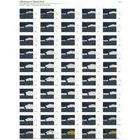 profilés en stuc moulures ornementales   EPS   rigide   Marbet   48x58mm   B-8