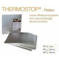 Panneaux isolants avec feuille d'aluminium | isolation des murs | 50x50cm | THERMO-STOP 4