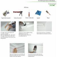Moulages en stuc | XPS | stable | Marbet | 45x45mm | E-40