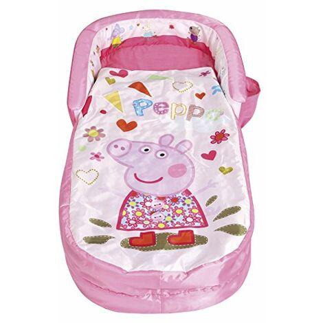 Peppa Pig - Mon tout premier ReadyBed - lit d?appoint gonflable pour enfants avec couette integree