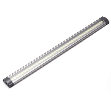 Réglette LED aluminium 0m50 69 LED SMD blanc neutre