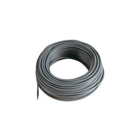 5 m Cable noir 6 mm2 pour cablage des systèmes énergétiques
