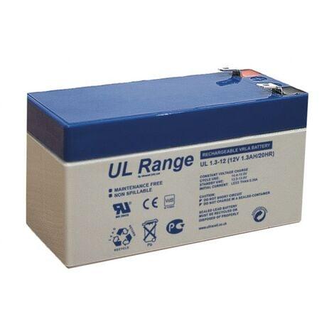 Batterie plomb 12V 1,3Ah Ultracell gamme UL