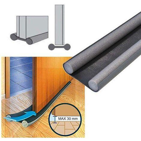 TESA MOLL guarnizione x porte e finestre profilo E in gomma 6mt spessore 1-3,5mm