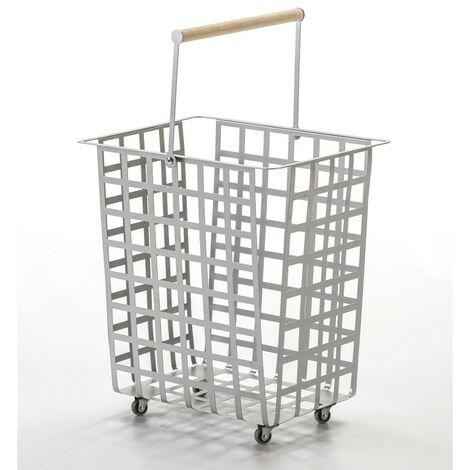 DON HIERRO, ZESTAS - Set de 2 cestas - tamaño grande,. Diseño y fabricación española.
