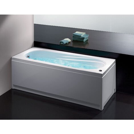 Glass Vasca idromassaggio Astor 170x70 rettangolare bianca