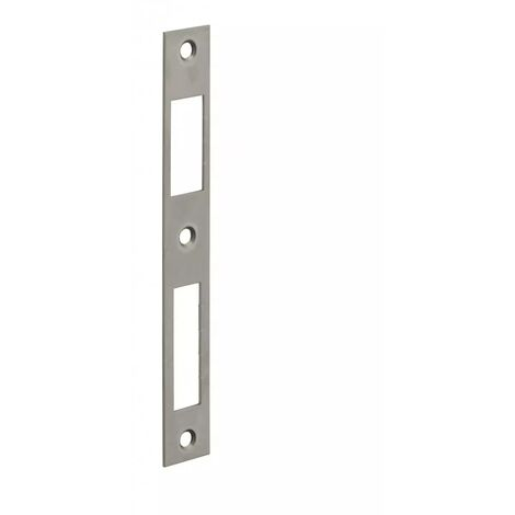 THIRARD - Gâche plate inox coffre réduit 160x22x1,5 mm