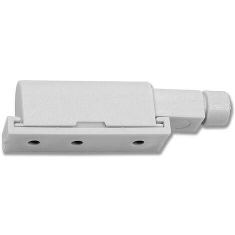 Fermeture Push Latch à visser (10 unit) - talla Amortissesur/ plastique gris