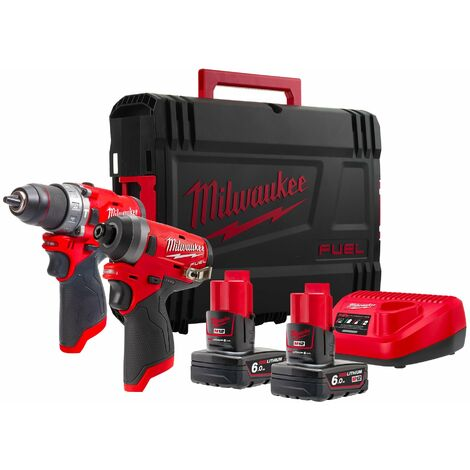 Kit Power Pack Milwaukee M12 FPP2A-602X