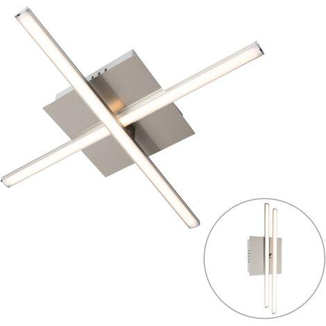 Modern ceiling lamp steel LED rotatable - Cruz