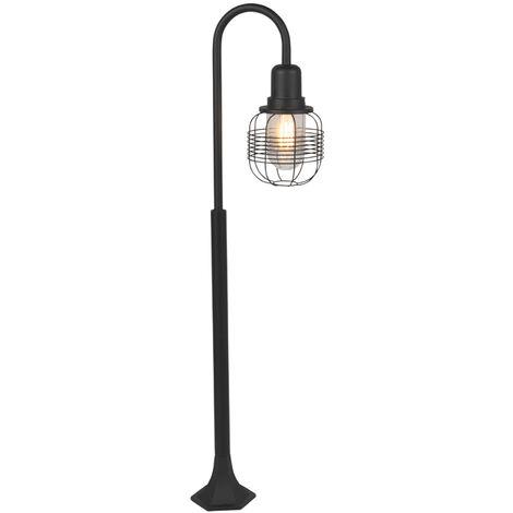 Rural outdoor lamp black IP44 - Guardado