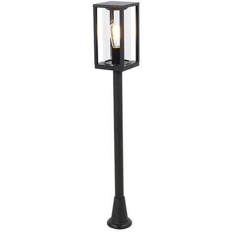 Industrial outdoor lantern black 100 cm IP44 - Charlois