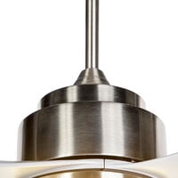 Ceiling fan gray incl. LED with remote control - Tramontane 46