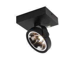 Modern Adjustable Spotlight 1 Black incl. LED G9 - Go