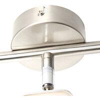 Ceiling spot steel tiltable incl. LED - Bart 3