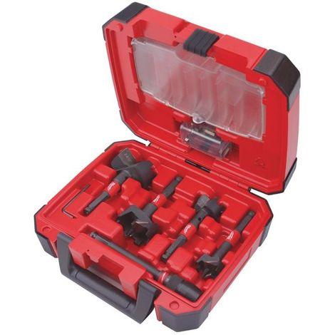 Estuche de plástico Switchblade de 5 piezas35 / 38 / 54 / 65mmExtensión QUIK-LOK 140mm4 Repuestos de cuchillas (uno para c