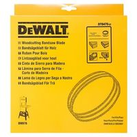 Hoja para sierra cinta, longitud: 2095mm, ancho: 6mm, espessor: 0.6mm, paso: 3.2mm, para cortes curvos en madera DEWALT
