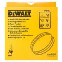 Hoja para sierra cinta, longitud: 2215mm, ancho: 4mm, espesor: 0.6mm, paso: 1.8mm, para marquetería en madera DEWALT