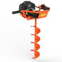 Tarière thermique FUXTEC FX-EB152 avec mèches de 100, 150 et 200 mm