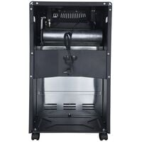 4.2Kw Portable Butane Fire Calor Gas Electric Cabinet Heater LQ-HE01