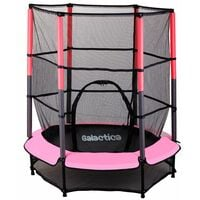GALACTICA Trampoline Set 4.5FT Pink