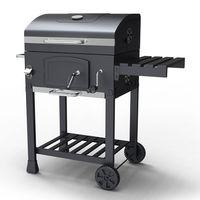 HEATSURE Charcoal BBQ Grill CBG01 Grey