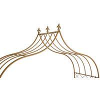 BIRCHTREE Metal Garden Arch MGA01 Bronze