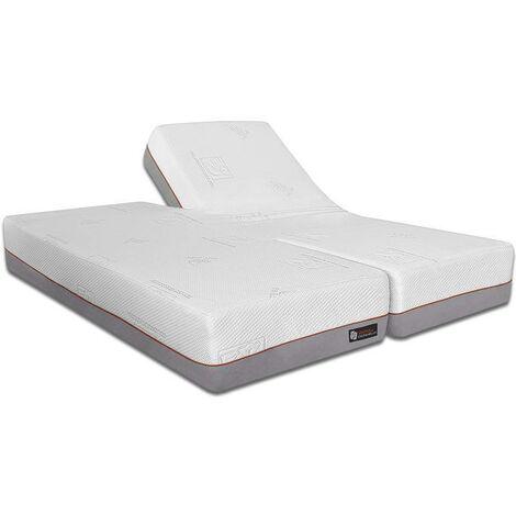 Ventadecolchones - Colchones para Camas Gemelares en H - Visco 3 - 135x190